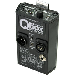 Whirlwind QBOX - Audio Line Tester/Test Tone Generator