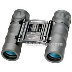 Tasco 8x21 Essentials Compact Binocular (Black)
