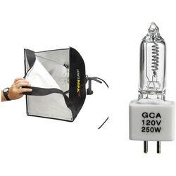 Lowel Rifa-Lite EX44 Softbox 250W Light with Lamp (120-240 VAC/12 VDC)