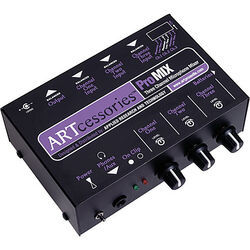 ART PROMIX 3-Channel Portable Mono Microphone Submixer