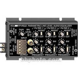 RDL FP-PEQ3 - 3-Band Parametric Equalizer