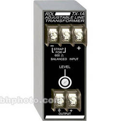 RDL TX-1A Balanced to Unbalanced Transformer (Adjustable)