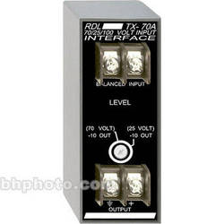 RDL TX-70A Input Interface with Unbalanced Line Out