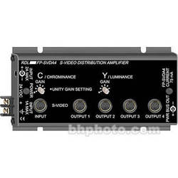 RDL FS-SVDA4 1x4 S-Video Distribution Amplifier