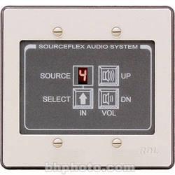 RDL SAS-RC8 Room Control Station (White & Gray)