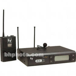 Electro-Voice RE-2 UHF Wireless Bodypack Microphone System - RE-2 Receiver, BPU-2 Beltpack Transmitter and OLM10 Omnidirectional Lavalier (Band A: 648 - 676 MHz)