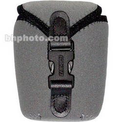 OP/TECH USA Soft Photo/Electronics Wide Body Pouch, Small (Steel Gray)