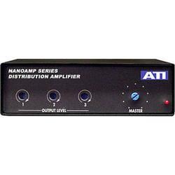 ATI Audio Inc DA103 - Compact 1x3 Line-Level Distribution Amplifier