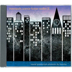 Sound Ideas Sample CD: Metropolis Science Fiction Toolkit 2