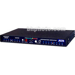 ATI Audio Inc DA2016-1 - Dual 1-In/8-Out Audio Distribution Amplifier
