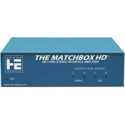 Henry Engineering THE MATCHBOX HD - IHF-Pro  Stereo Interface Amplifier