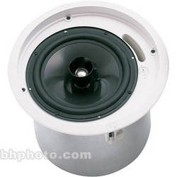 "Electro-Voice C8.2 - 8"" Coaxial Ceiling Mount Speaker Pair w/Transformer (White)"