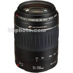 Canon 55-200mm f/4.5-5.6 USM II Lens