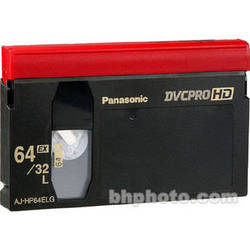 Panasonic AJ-HP64EL 64-Minute DVCPRO HD Video Cassette (Large)