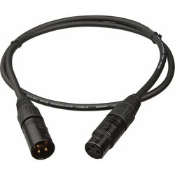 Mogami Gold Studio XLR Male to XLR Female Studio Mic Cable (25')