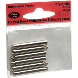 Pioneer Photo Albums P-3B Extra Long Extension Posts (6 Posts)