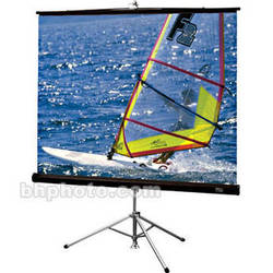 "Draper Diplomat/R Portable Tripod Projection Screen - 60 x 60"" - Matte White"