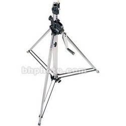 Manfrotto 2-Section Wind Up Stand with Leveling Leg (Chrome-plated, 8')