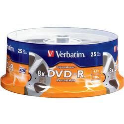 Verbatim DigitalMovie DVD-R 4.7GB (25)