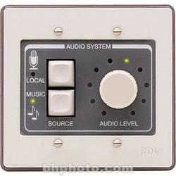 RDL RCX-2 - Wall-Mount Rotary Room Control for RCX-5CM (Black)