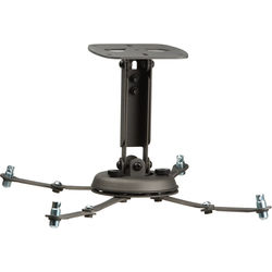 Premier Mounts PBL-UMS Universal Projector Mount with Adjustable Channel (Dark Gray)