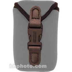 OP/TECH USA Soft Photo/Electronics Wide Body Pouch, Mini (Steel Gray)