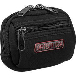 OP/TECH USA Zippeez Soft Pouch, Small (Black)