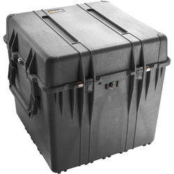 """Pelican 0374 24"""" 0370 Cube Case with Padded Dividers (Black)"""