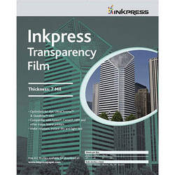"Inkpress Media Transparency Film for Inkjet Printers (8.5 x 11"", 20 Sheets)"