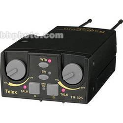 Telex TR-825 2-Channel Binaural UHF Transceiver (A5M Telex, A2: 518-536MHz Receive/632-650MHz Transmit)