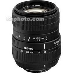 Sigma 55-200mm f/4-5.6 DC Lens for Nikon Digital AF