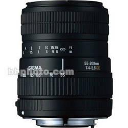 Sigma 55-200mm f/4-5.6 DC Lens for Digital SLR