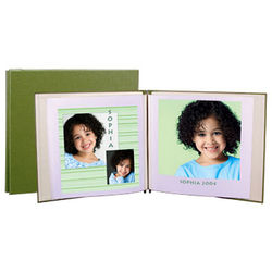 "Lineco 12 x 13"" Digital Post Bound Album w/10 Pages - Moss"