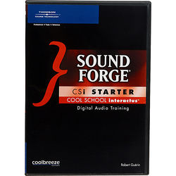 Cool Breeze CD-Rom: Sound Forge CSi Starter