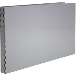 "Pina Zangaro Machina 1/2"" Three-Ring Binder - 11 x 17"" - Landscape - Aluminum"