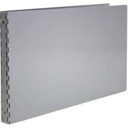 """Pina Zangaro Machina 1/2"""" Three-Ring Binder - 11 x 17"""" - Landscape - Aluminum"""