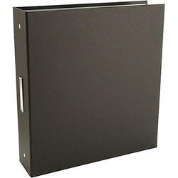 "Pina Zangaro 36414  Bex 3-Ring Binder (11.75 x 10.25"" x 2"") (Black)"