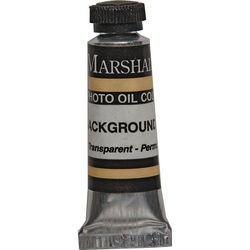 """Marshall Retouching Oil Color Paint: Background Tan - 1/2x2"""" Tube"""
