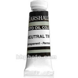 "Marshall Retouching Oil Color Paint: Neutral Tint - 1/2x2"" Tube"