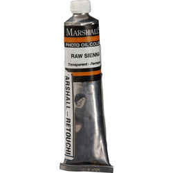 """Marshall Retouching Oil Color Paint: Raw Sienna - 3/4x4"""" Tube"""