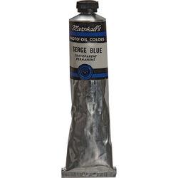 "Marshall Retouching Oil Color Paint: Serge Blue - 3/4x4"" Tube"