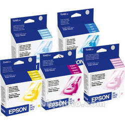 Epson T048920 Multi-Pack Color Ink Cartridges