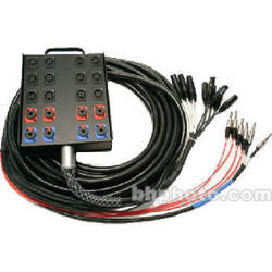 Whirlwind Medusa Power Series 12 Channel Snake Cable - 150'