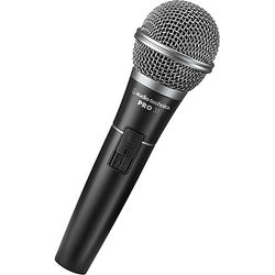 "Audio-Technica Pro 31 Cardioid Dynamic Handheld Microphone with XLR to 1/4"" Cable"