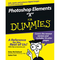 """Wiley Publications Book: Photoshop Elements """"X"""" For Dummies"""
