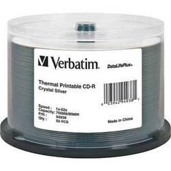 Verbatim CD-R Crystal Thermal Disc (50)