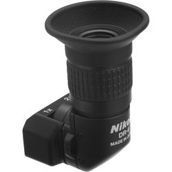 Nikon DR-6 Right Angle Viewfinder (Rectangular Slip-On)