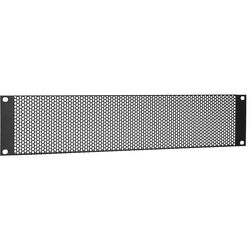 """Middle Atlantic VT-2 3-1/2"""" (2 Space) Vent Panel with Large Perforation Pattern"""