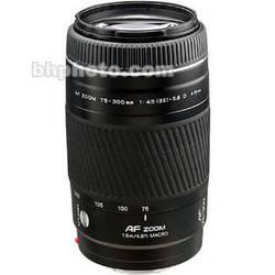 Konica Minolta AF D 75-300mm f/4.5-5.6 Autofocus Lens - Black