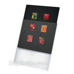 "Print File Overmat - 11 x 14"" - Holds Six 6x4.5cm Transparencies - 10 Pack"